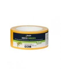 CINTA DOBLE CARA DECO GREEN 5CMx10M
