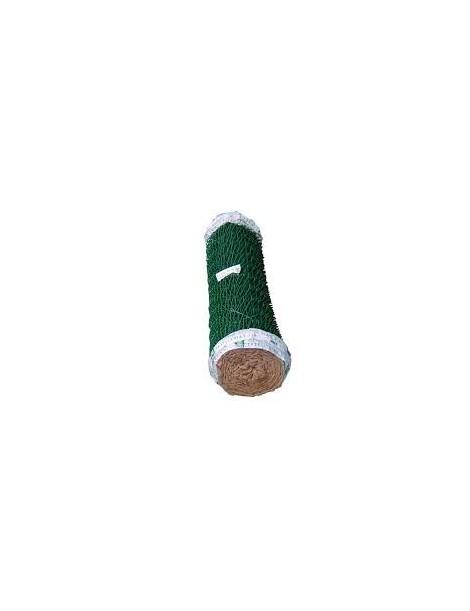 MALLA SIMPLE TORSION PLASTIFICADA VERDE (ROLLO 25M)