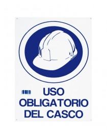 SEÑAL USO OBLIGATORIO DEL CASCO 30x45